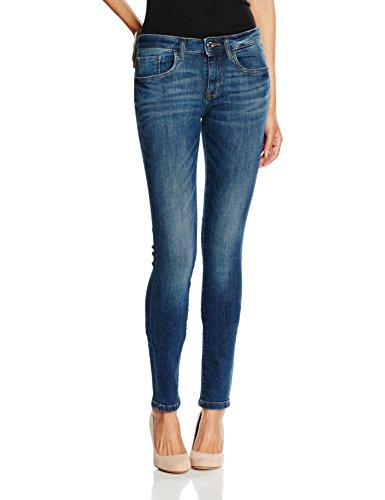 Jeans Skinny Wash Stone 1053 Alexa Dark TOM Bleu TAILOR Femme Denim qHF66U