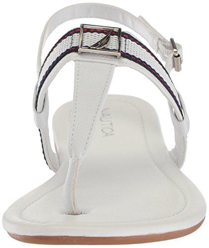 Sandal Bridgewater Women's Flat Nautica White T5qtXnw