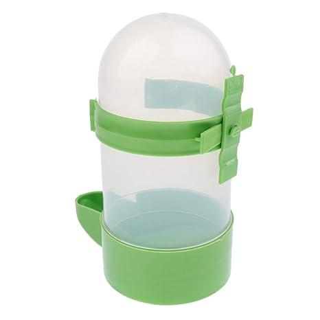 D DOLITY Dispensador de Agua para Gatos Accesorios de Animales Doemsticos Resistente Duradero - Verde