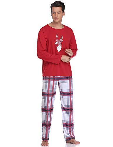 Para Pap Pijamas De Conjunto Navidad Aibrou cWSfnf