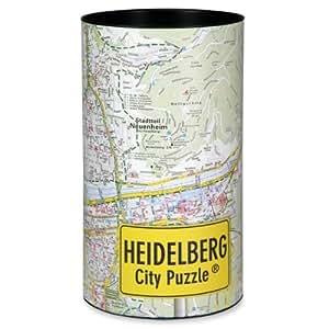 Ciudad Plan Heidelberg City–Puzzle–Souvenir