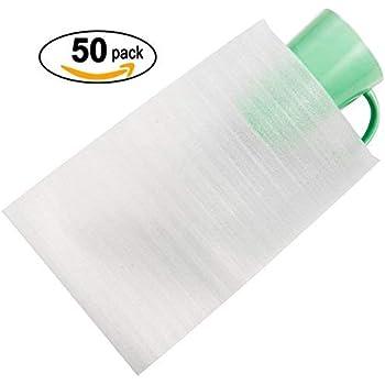 Amazon Com 50 Cushion Foam Pouches 7 1 2 Quot X 12 Quot Protect