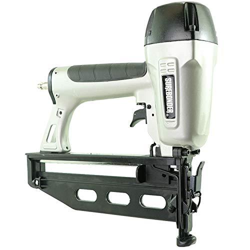 Surebonder 9755 Pneumatic 16 Gauge 2-1/2-Inch Straight Finish Nail Gun with Carrying Case