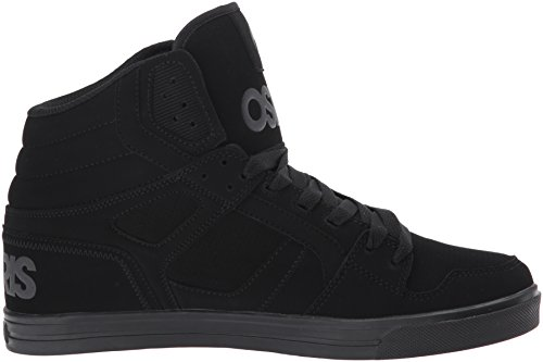 Osiris Mens Clone Pattino Da Skate Nero / Ops