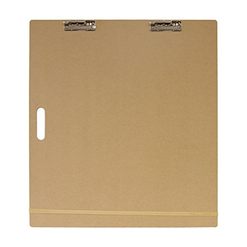 US Art Supply Artist Sketch Tote Board - Great for Classroom, Studio or Field Use (23