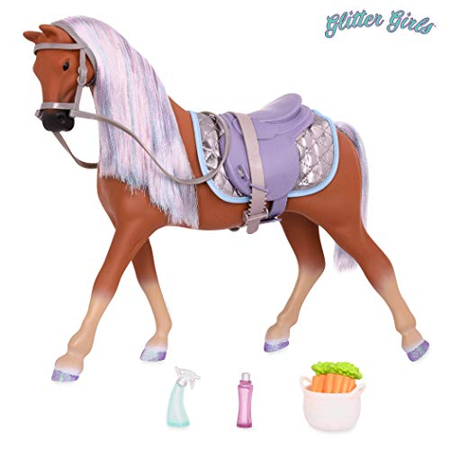 Glitter Girls by Battat - 14-inch Morgan Horse Celestial - Toys, Accessories, and Pets for Dolls -Ages 3 and Up