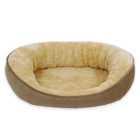 Pawslife Orthopedic Foam Dreamer Pet Bed in Brown l Comfort for your Dog's rest