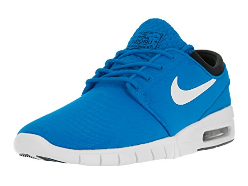 Nike Stefan Janoski Max, Unisex Adults' Low-Top Sneakers Blue (Photo Blue/White-black)