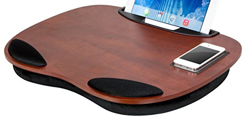 LapGear Media LapDesk Exec for laptops and tablets 91050 Cherry - Cherry Laptop Desk