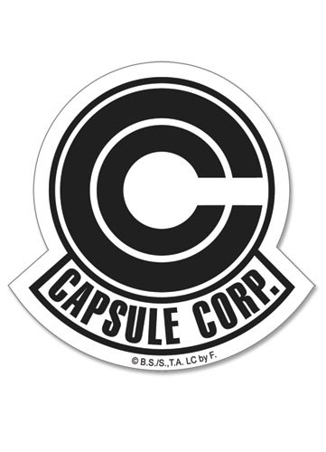 Dragonball Dragon Ball Z Capsule Corp Symbol Sticker Anime