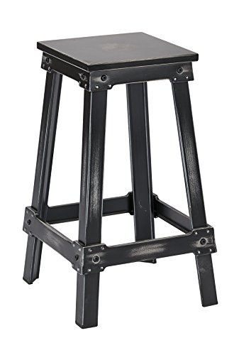 Work Smart OSP Designs NCL3126-AB-osp New Castle 26 Metal Barstool, Antique Black