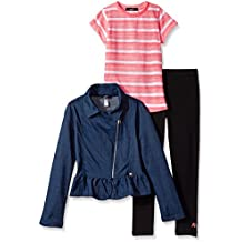 Girls' Jacket, Knit Top and Legging Set (More Styles Available)