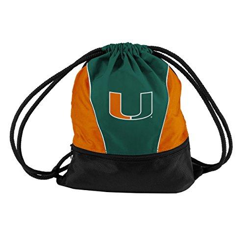 Logo Brands NCAA Miami Hurricanes Sprint Pack, Small, Team Color
