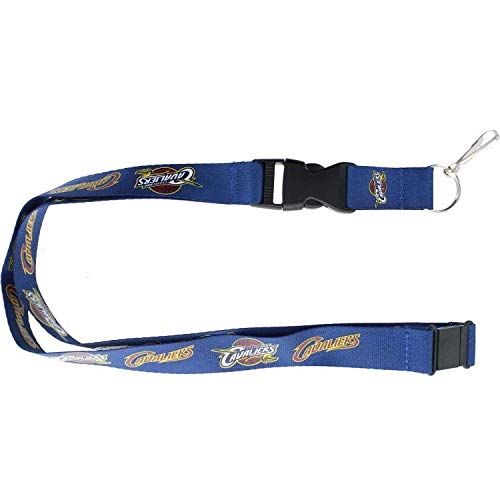 NBA Cleveland Cavaliers Team Color Lanyard, 22-inches, Blue