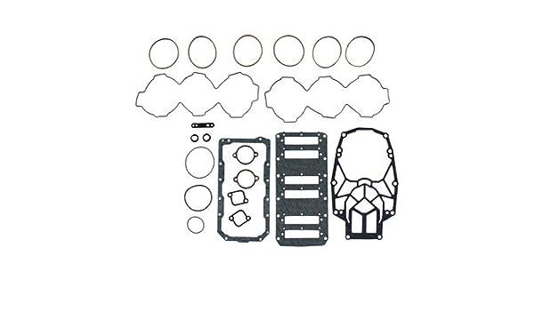 XS Pro XS Lower Exhaust Plate Mercury 200-250 EFI 3.0L 200-300 DFI Gasket