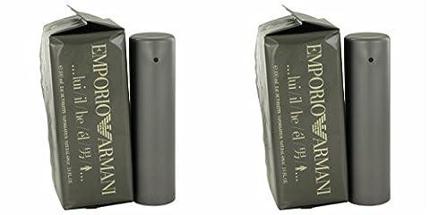 Giorgió Armáni Empŏrio Armáni Cŏlogne For Men 3.4 oz Eau De Toilette Spray (2 Pack) + a FREE Wings Cologne 3.4 oz Shower (Emporio Armani Eau De Toilette)