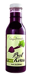 Beet Kvass, Organic, Raw, Fermented, Probiotic, 12 Fl Oz (6 Pack)