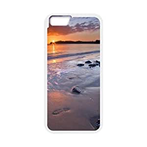 iphone6 plus 5.5 inch case (TPU), night beach backgrounds Cell phone case White for iphone6 plus 5.5 inch - FGHJ8970474
