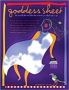 "Goddess Applique Pressing Sheet 16 1/2"" x 10 3/4"" (41.9cm x 27.3cm) Inch Transparent Reusable Non-stick Craft Sheet-press Cloth"