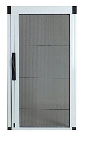 Retractable Screen Sliding Door (Greenweb Retractable Screen Door 37 inch by 97 inch Kit DIY Sawability)