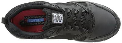 Skechers for Work Men's Flex Advantage Slip Resistant Oxford Sneaker