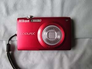 Nikon Coolpix S205 Digital Camera (Red)