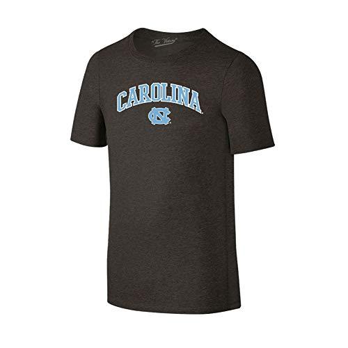 Elite Fan Shop North Carolina Tar Heels Tshirt Heather Arch Gray - XL - Charcoal ()