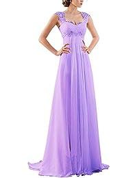 Amazon purples wedding dresses wedding party clothing 2017 new sleeveless lace chiffon wedding dress bridal gown junglespirit Gallery