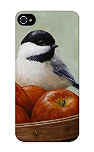 Hot Ddjtss-4591-vfmzfsr Apple Chickadee Greeting Card 1 Tpu Case Cover Series Compatible With Iphone 5/5s