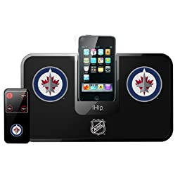 NHL Winnipeg Jets Portable Premium iDock with Remote Control