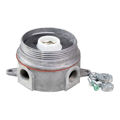 All Points 38-1323 Junction Box with Lamp Assembly; 5/16'' Diameter Mounting Hole; 5 1/8'' Centers by All Points