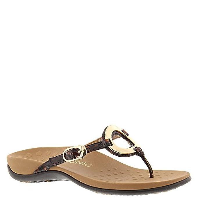 Scarpe E Borse Da Donna Sandali Vionic Womens Karina Leather Sandals
