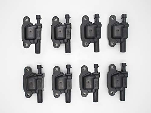2010 Chevrolet Avalanche Parts - New AD Auto Parts OEM Ignition Coil Set (8) For For LS2 LS4 LS7 LS9 engines ACDELCO D513A D510C