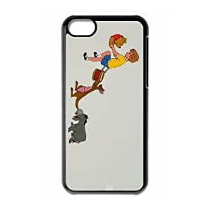 iPhone 5c Phone Case Cover Black Disney Winnie the Pooh and the Honey Tree Character Kanga EUA15974463 Phone Case Cover For Men Unique