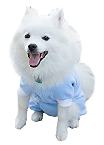 Cover Me by Tui Adjustable Fit Step-into with Long Sleeve for Pets, Large, Blue