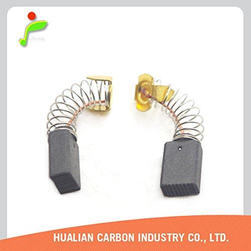 Hualian CB-124 191945-4 Carbon Brush for Makita Power Tools 10 Pieces