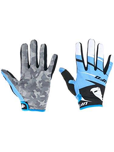 Ufo Blue 2017 Revolt Mx Gloves (S, Blue)