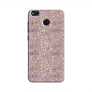 Cover It Up - Brown Violet Pebbles Mosaic Redmi 4 Hard Case