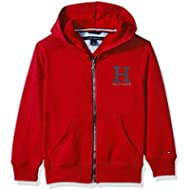 Tommy Hilfiger Little Boys' Long Sleeve Matt Logo Zip Up Hoodie