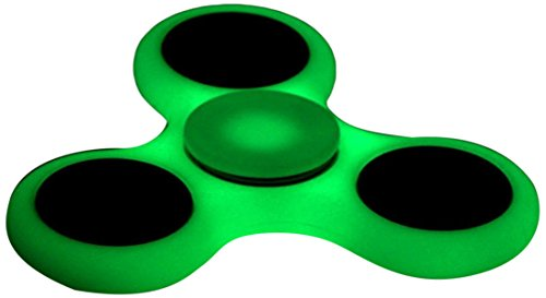 D-JOY Tri-Spinner Fidget Toy Hand Spinner Camouflage, Stress Reducer Relieve Anxiety and Boredom Camo ( Fluorescence ) D-JOY