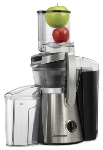 Juiceman JM550S The Big Apple 4-Inch Wide-Mouth Automatic Juice Extractor