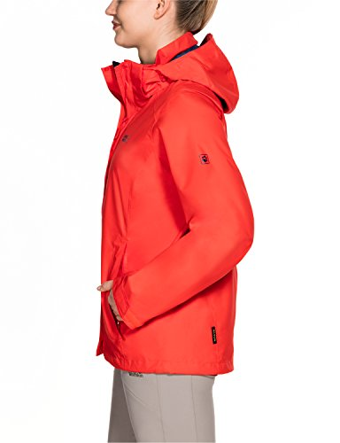 Impermeabile Donna Da Red Seven Jack Wolfskin E Lakes Lobster Antivento Giacca B4wxfO