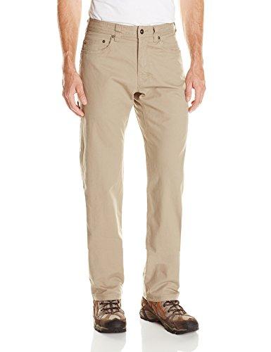 prAna Living Men's Bronson 34-Inch Inseam Pant, 28, Dark Khaki