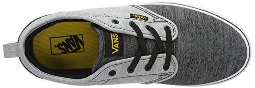 Vans YT Atwood Slip-On, Zapatillas Para Niños Gris (Chambray)
