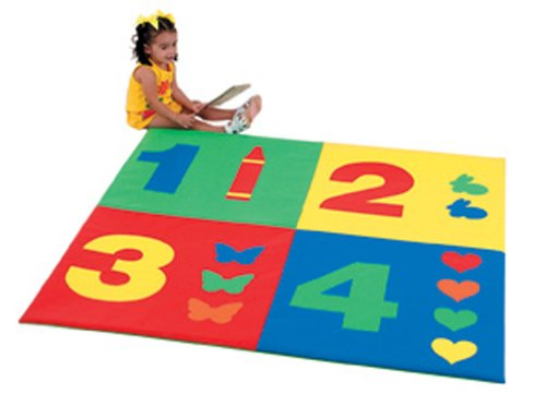 Children's Factory 1-2-3-4 Mat by Children's Factory