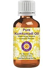 Deve Herbes Pure Kumkumadi Oil 100% Natural Therapeutic Grade