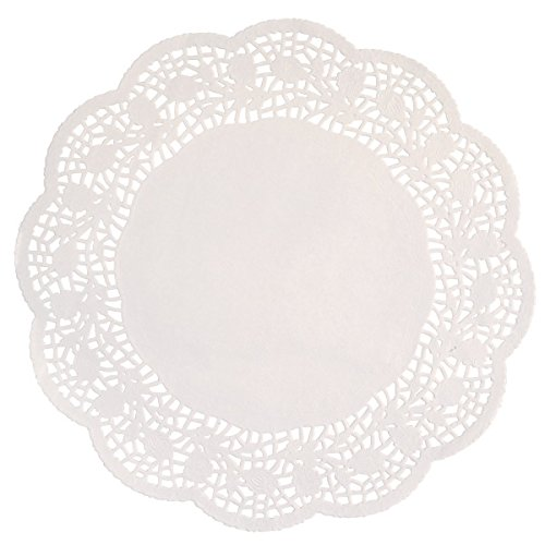 Assorted White Paper Doilies, 32ct