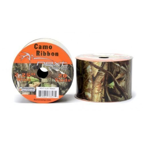 Military Hunting High Definition Camo Poly Ribbon (2.25