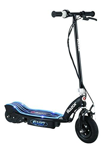 Razor Elektroroller E100 Glow Electric Scooter, Schwarz, 13173831