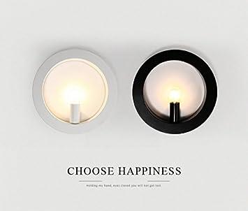KYDJ ® Wandleuchte  Wand Kreativ Nordisch Modern Minimalistisch  Kreisförmigen Nachttischlampen Wohnzimmer Schlafzimmer Flur Flur Badleuchten